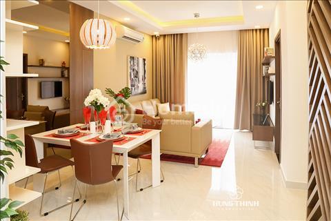 Richmond City đường Nguyễn Xí, 1,6 tỷ/2 phòng ngủ, hoàn thiện nội thất, chiết khấu 3 đến 18%