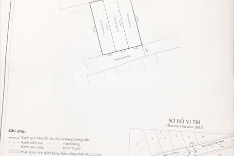 Bán gấp nhà nát 2 mặt tiền hẻm 803 Huỳnh Tấn Phát, phường Phú Thuận, Quận 7