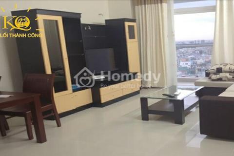 Cho thuê căn hộ Satra Eximland - 163 Phan Đăng Lưu, 2 phòng ngủ, full nội thất, tầng cao