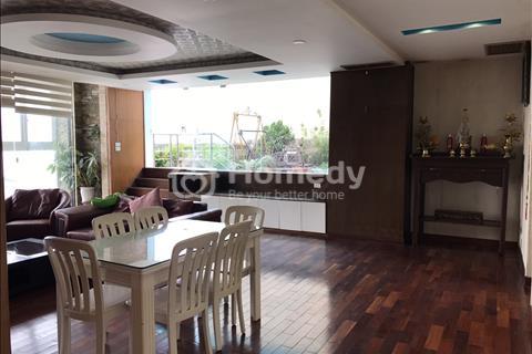 Cần cho thuê căn hộ penthouse tòa Vinaconex, cạnh tòa Thăng Long Number One, 250 m2, 18 triệu/tháng