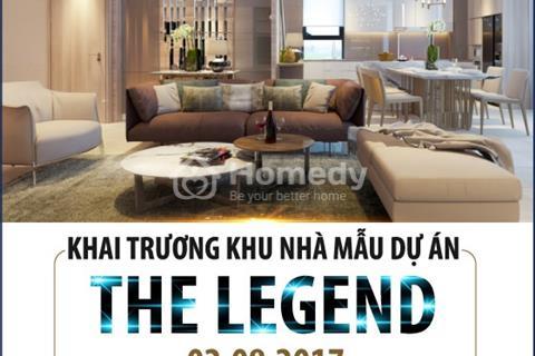 Khai trương nhà mẫu chung cư The Legend tặng ngay phần quà chính sách lên tới 200 triệu