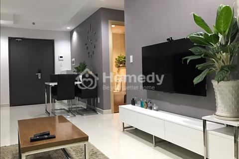 Cho thuê căn hộ 590 Cách Mạng Tháng 8, 55 m2, 1 phòng ngủ. Giá thuê: 8 triệu/tháng