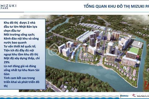 Bom tấn Nam Sài Gòn, KĐT Mizuki Park, nơi an cư lạc nghiệp. Giá chỉ từ 21,5 triệu/m2