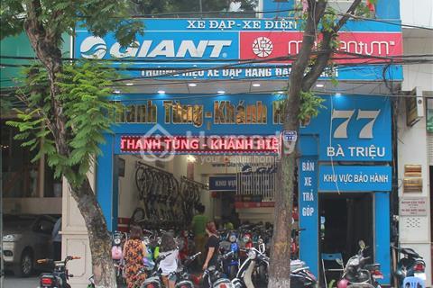 Cho thuê nhà mặt phố Bà Triệu, mặt tiền rộng 5,5m, 85 m2/sàn, vị trí đắc địa kinh doanh đỉnh cao