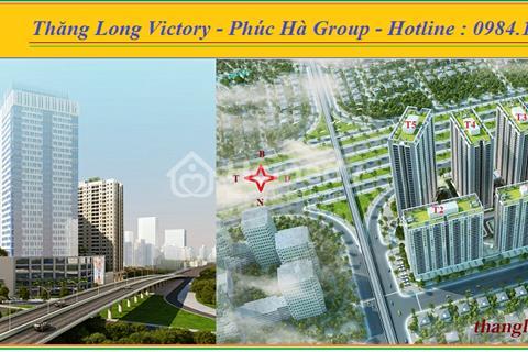 Thăng Long Victory cơ hội sở hữu căn hộ 3 PN – 93 m2, giá 1,2 tỷ,chiết khấu 15%nhận nhà ngay