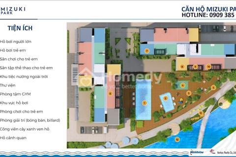 """Mở bán 2 Block 'View Hồ"""" đầu tiên khu đô thị Mizuki Park chỉ thanh toán 50% đến khi nhận nhà"""