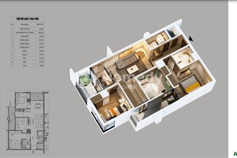 Bán căn hộ cao cấp diện tích 94 m2 view sông tầng cao đẹp, giá cực ưu đãi dự án Northern Diamond
