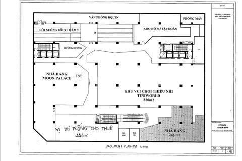 Cho thuê văn phòng tại tòa nhà Parkson - CT Plaza Trường Sơn, 243 m2, giá 340 nghìn/m2