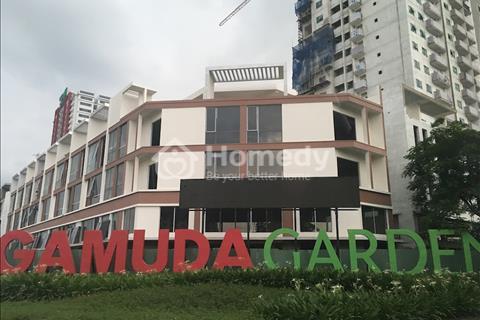 Mặt bằng kinh doanh 132 m2 khu đô thị Gamuda Hoàng Mai tặng 1 năm tiền thuê