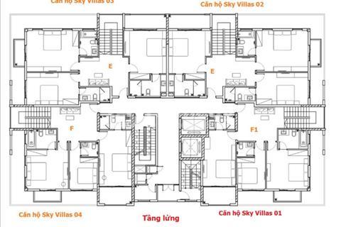 Biệt thự trên không view mặt biển Vũng Tàu-240 m2 giá chỉ 28 triệu/m2 rẻ nhất khu vực biển