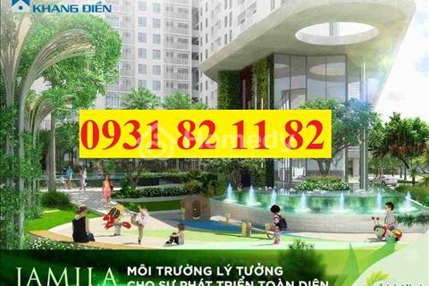 Bán giá gốc căn hộ Quận 9 Jamila Khang Điền liền kề Quận 2 giá chỉ 23tr/m2, trả chậm 45 tháng 0% LS