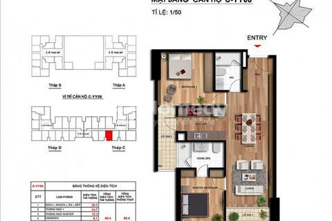 Cần bán gấp căn hộ C09, 86 m2- 2 phòng ngủ tại Imperia Garden giá 2,6 tỷ