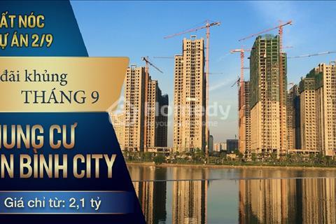 Căn hộ 90,6 m2 view hồ giá rẻ nhất An Bình City - 2,45 tỷ