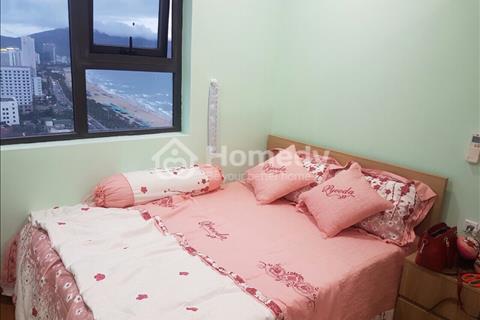 Cho thuê căn hộ Mường Thanh vip tầng 25 căn 2 PN, full NT xịn, view biển, bán đảo Sơn Trà
