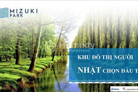 Khu đô thị Mizuki Park khu đô thị mang phong cách Nhật Bản tại Việt Nam chỉ 1,2 tỷ/căn 2PN