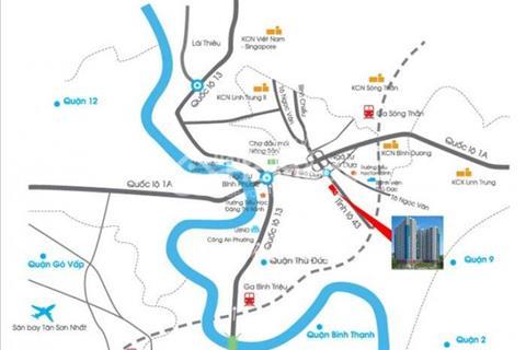 Căn hộ Sài Gòn Avenue Biệt lập ngay trung tâm quận Thủ Đức, Phạm Văn Đồng, giá chỉ từ 1 tỷ