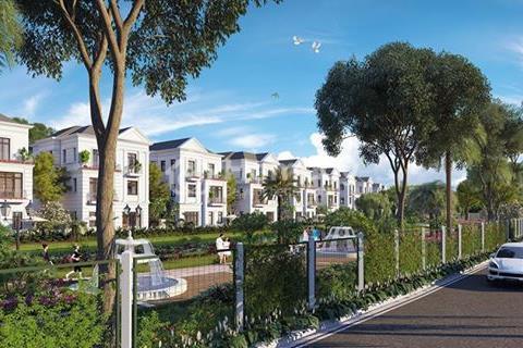 Bán biệt thự song lập mặt tiền đường Nguyệt Quế 2, dự án Vinhomes Riverside The Harmony