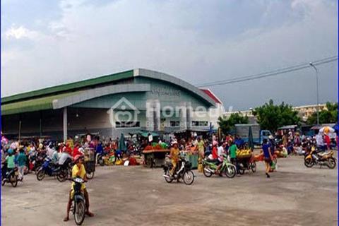 Qua Mỹ định cư sang gấp 600m2(20x30m) đất chợ và 16 phòng trọ trong KCN Kumho Tire, tiện kinh doanh