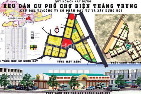 Phố chợ Điện Thắng Trung - Cạnh trạm thu phí Quảng Nam QL1A - 120 Lô có sổ từ 410 triệu/1 nền