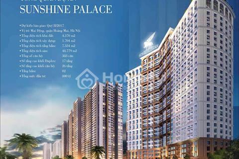 Sunshine Palace gần Times City giá chỉ từ 2,3 tỷ ưu đãi quà tặng tới 150 triệu, full đồ cao cấp