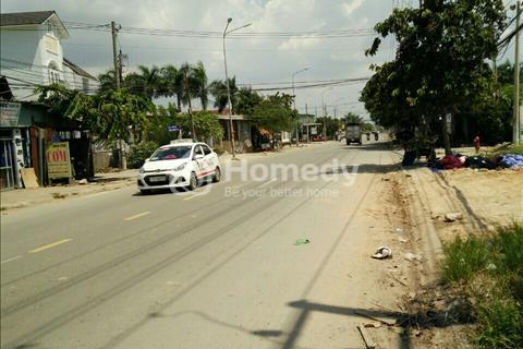 Bán đất sổ đỏ mặt tiền Lê Thị Trung gần vòng xoay An Phú, cơ sở hạ tầng hoàn thiện.