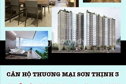 Chỉ từ 761 triệu đến 882 triệu để sở hữu ngay căn hộ Sơn Thịnh, view biển Vũng Tàu