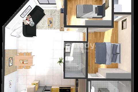 Block B1, Block đẹp nhất Dự án Green Town đã được triển Khai