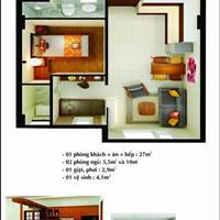 Chuyển nhượng căn hộ Phú Thịnh Plaza Phan Rang, trung tâm hành chính tỉnh Ninh Thuận giá ưu đãi