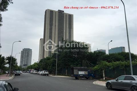 Bán chung cư CT4 Vimeco căn tầng đẹp giá chỉ từ 31,8 triệu/m2