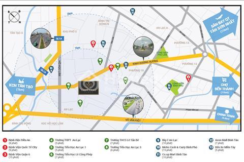 Độc quyền tầng căn hộ Imperial Place Bình Tân giá chỉ 17,5tr/m2 - nội thất cao cấp