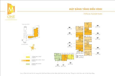 Bán căn hộ M-One Gò Vấp, chỉ 160 căn, giá tốt 27 triệu/m2. Kết nối trực tiếp Phạm Văn Đồng