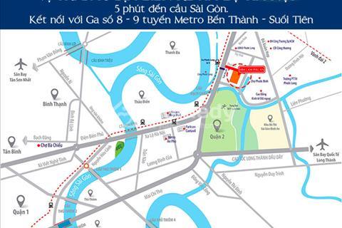 Căn hộ Him Lam Phú An Quận 9, thanh toán linh hoạt nhất thị trường hiện nay chỉ với 1%/tháng