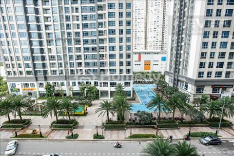 Cần bán gấp Vinhomes Central Park, officetel 2 PN 62,5 m2, 1WC, view nội khu giá 3,25 tỷ bao hết