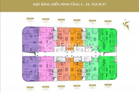 Cần bán căn hộ số 01 toà IP1 dự án Imperial Plaza 360 Giải Phóng. Giá 25,2 triệu/m2.