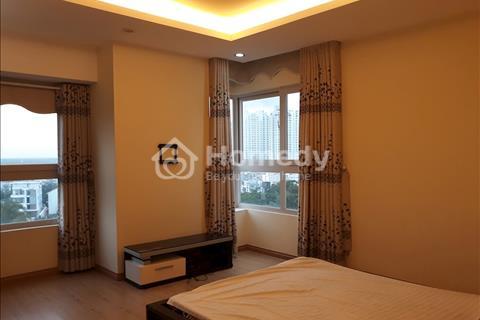 Cho thuê căn hộ cao cấp Dragon Hill, 3 phòng ngủ, NTDD, dt 122m2, giá 700usd/tháng