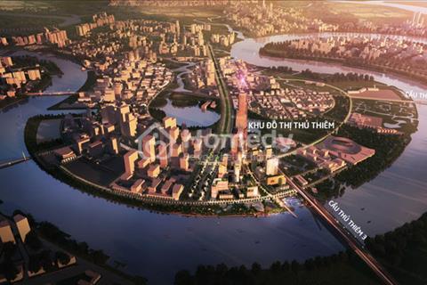 Bán lỗ căn 2 phòng ngủ Empire City 86 tầng, giá 4,4 tỷ - khu trung tâm kinh tế tài chính