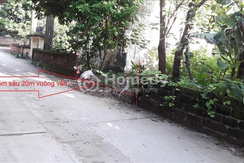 Bán đất Võng La, Đông Anh - Sổ đỏ chính chủ, mặt đường ô tô đỗ cửa, Cách cầu Thăng Long 100 m