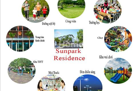 Chỉ 500tr sở hữu ngay Siêu dự án đất nền Sunpark Residence Sân bay Long Thành đã có sổ riêng, CK10%
