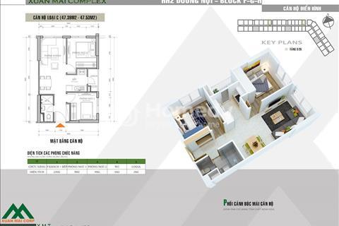 Chỉ 900 triệu sở hữu ngay căn hộ 2 pn full nội thất tại Xuân Mai Complex Dương Nội