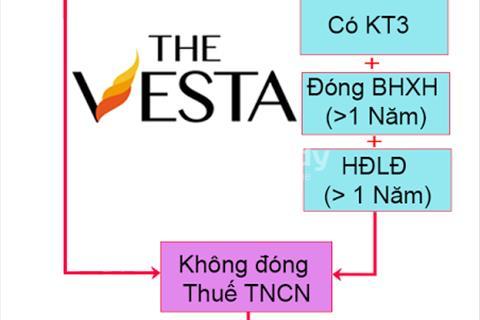 Nhận hồ sơ nhà ở xã hội dự án The Vesta Phú Lãm Hà Đông