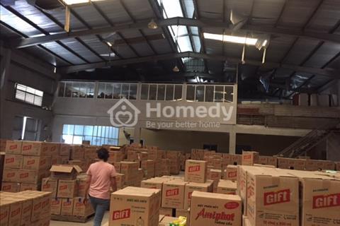 Cho thuê kho xưởng diện tích 840 m2 Trưng Trắc Văn Lâm Hưng Yên