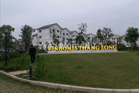 Gia đình mình cần bán căn biệt thự Vinhomes Thăng Long. Diện tích 153 m2. Giá 8 tỷ