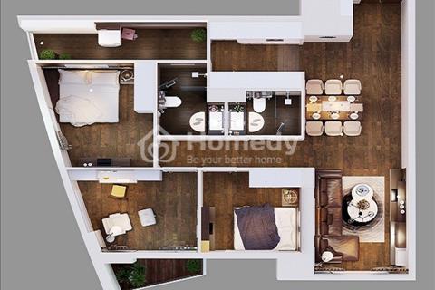 Còn duy nhất căn hộ cuối 3 ngủ tại 360 Giải Phóng, giá 2,8 tỉ, view toàn thành phố.