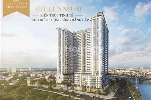 Căn hộ 2 pn Millennium, dt sân vườn 30 m2. View hồ bơi, Bitexco. Giá 3,339 tỷ (vat)