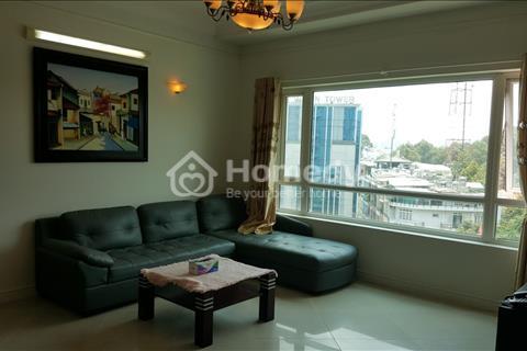 Cho thuê chung cư cao ốc Phú Nhuận 130m2/3 phòng ngủ giá 25 triệu/tháng full nội thất