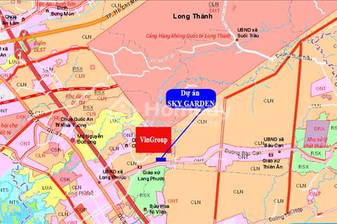 Nóng nhất thị trường, đất nền gần sân bay Long Thành