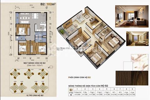Green Stars - Bán căn lỗ căn hộ 1501 tòa A2 (102m2) giá chính xác chỉ 2,6 tỷ