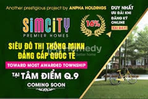 """Khu căn hộ biệt thự Simcity với Chương trình Siêu đặc biệt Dịp khai trương - """"Mưa quà tặng"""""""