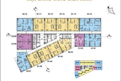 Bán gấp chung cư FLC 36 Phạm Hùng, căn 1602 (56,5m2), căn 1810 (96m2), 24tr/m2