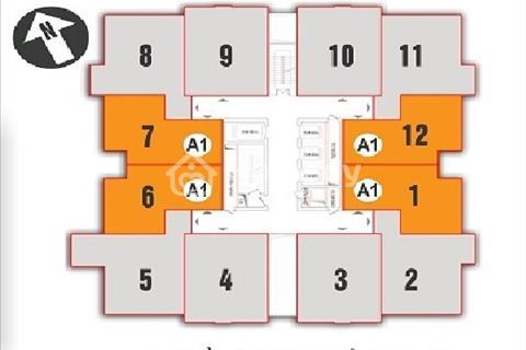 Bán cắt lỗ chung cư Nam Xa La T1605 (83,8m2) CT1 và T1909 (80,3m2) CT2, 12tr/m2.